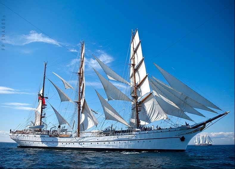 Barque Sagres II tallship sailing