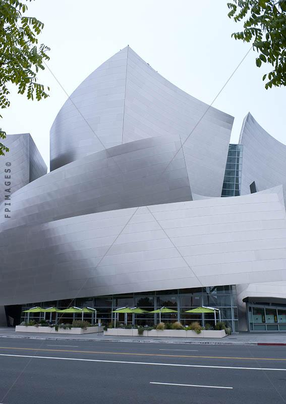 Architectural Landmark of Los Angeles - Walt Disney concert Hall