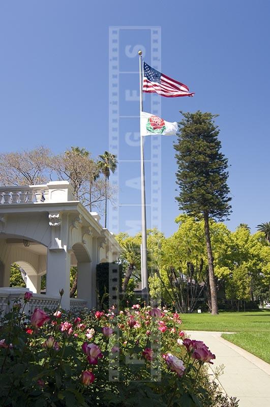 Rose Parade Tournament House And Wrigley Gardens In