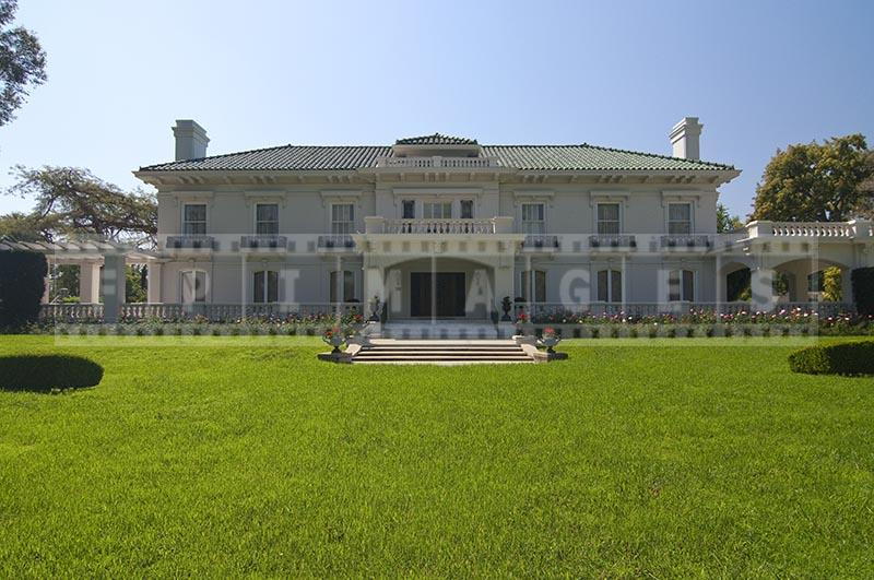 Wrigley mansion - headquarters of the Tournament of Roses, Pasadena California