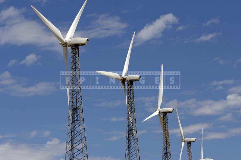 Array of Wind Generators, industrial images