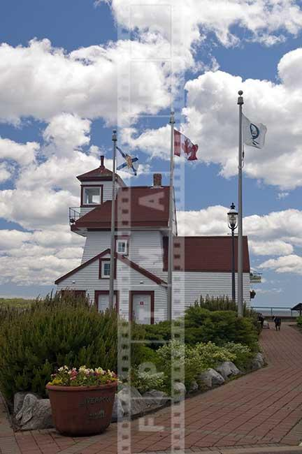 Liverpool Nova Scotia old lighthouse