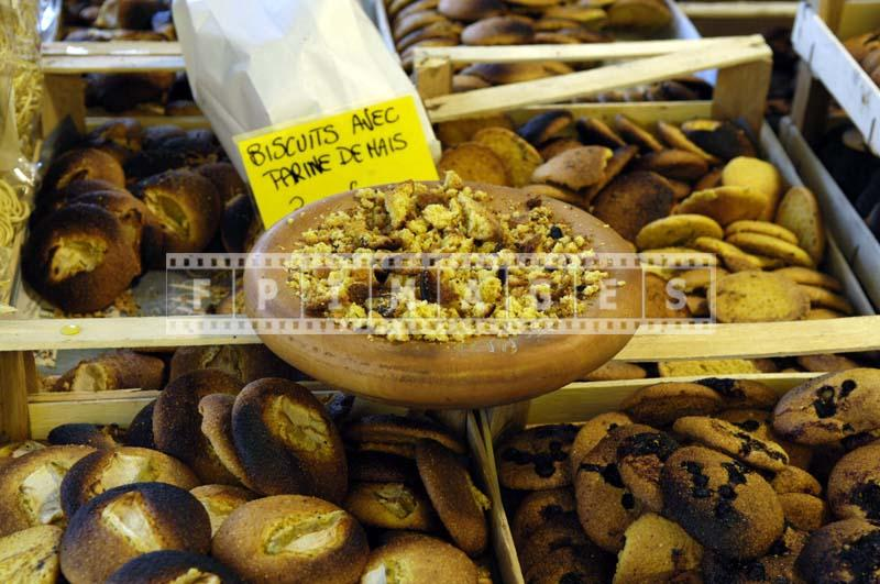 Corn flower cookies