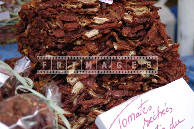 Sun-dried tomato - tomates seches
