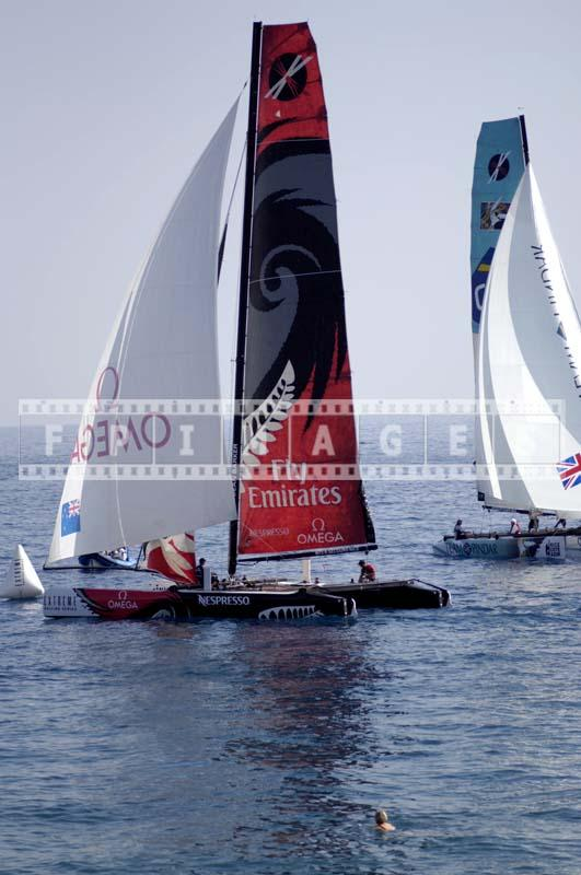 Photo of sailing boats Cote d'Azur race