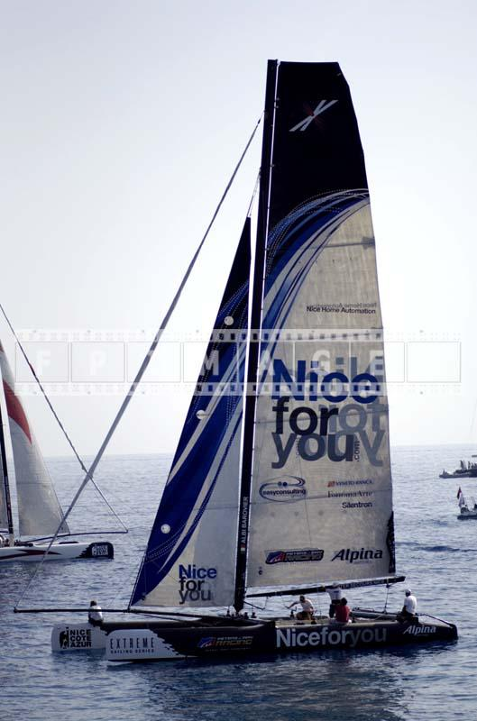 extreme 40 sailing series catamarans
