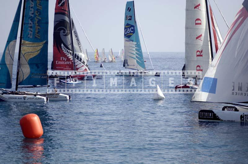 Extreme series sailing - Nice, Cote d'Azur natical photos.