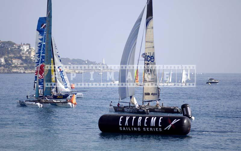 extreme sailing series catamarans