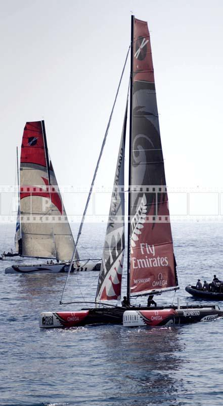 extreme sailing series catamaran