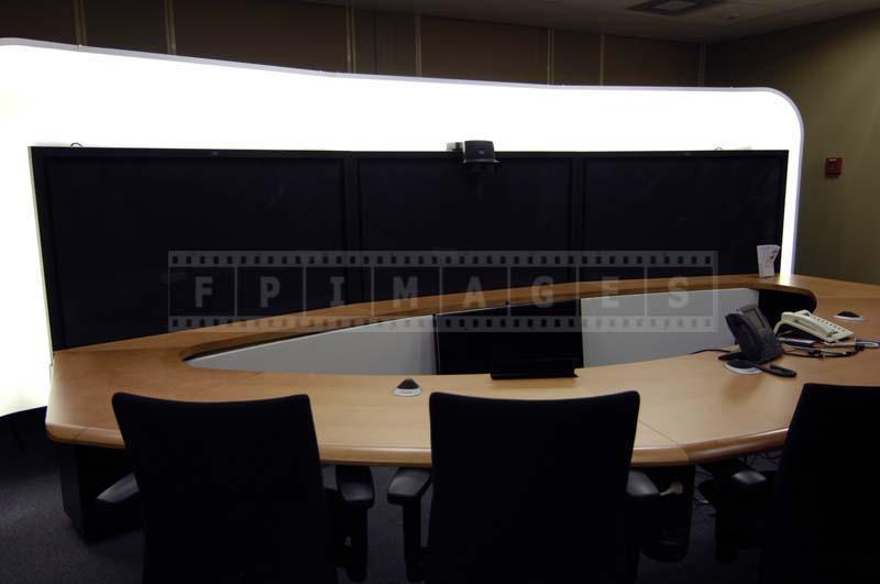 modern remote meeting room
