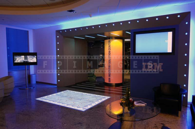 LED lights with deep blue color