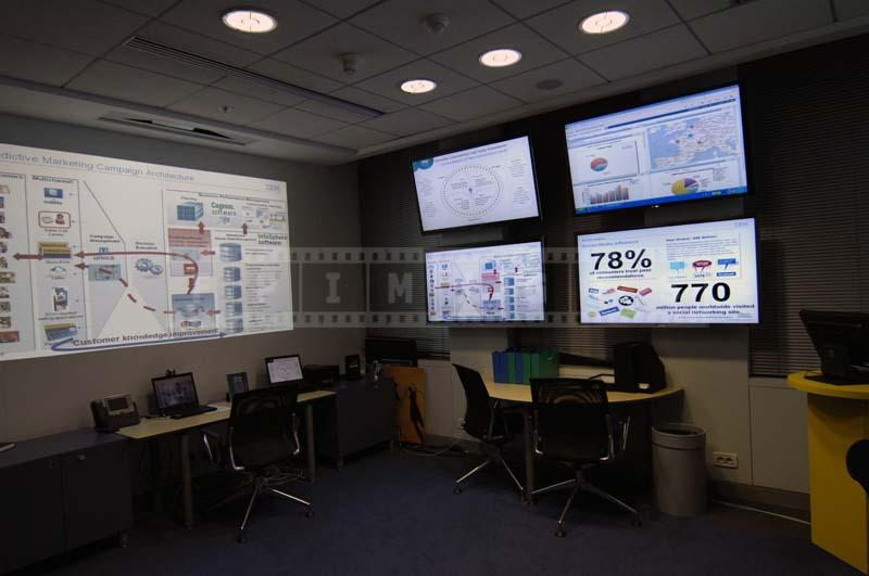 marketing digital dashboard room