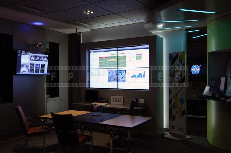 smart city electronic control room