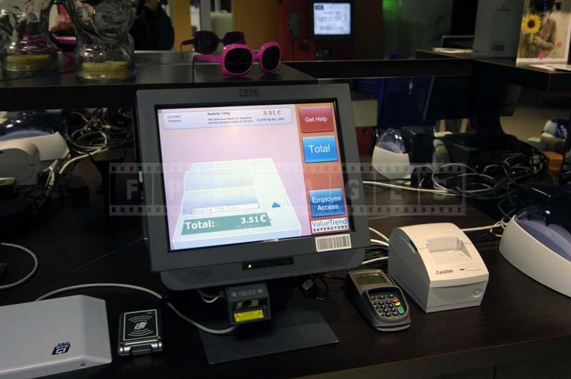 store electronic POS