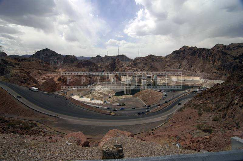 Striking Engineering Pictures, Hoover Dam road