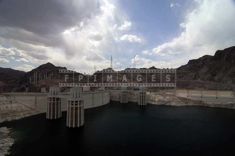 Penstock Towers, the Nevada-Side Spillway, engineering pictures