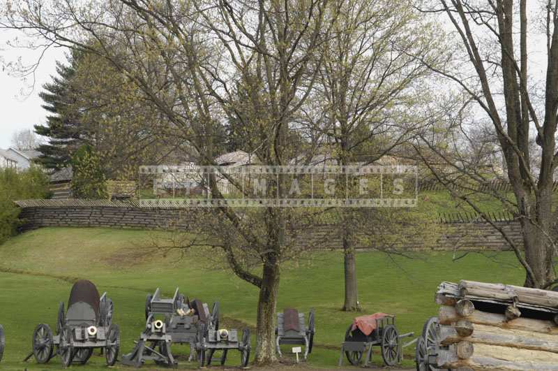 Cannons Displayed at Fort Ligonier