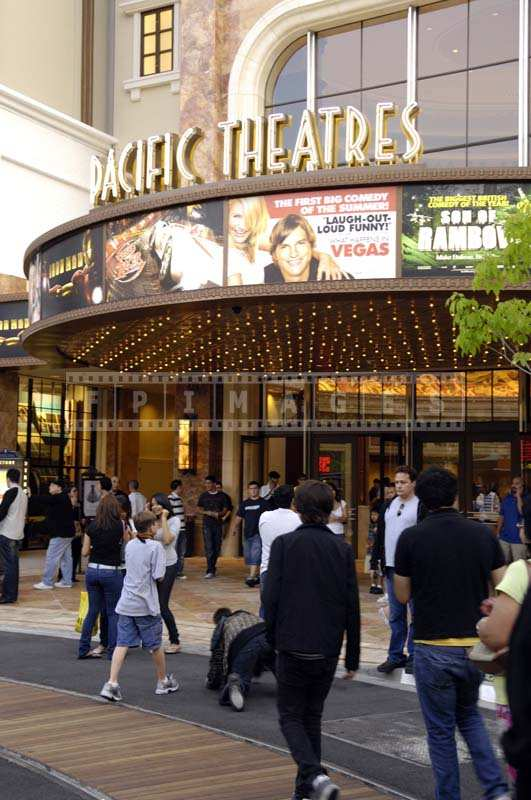 The Lively Atmosphere outside the Pacific Theaters