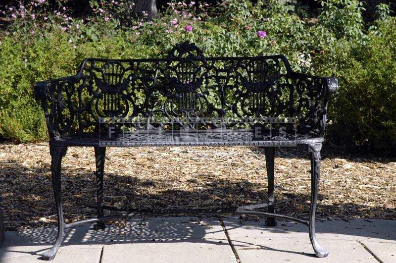 Gaden iron bench