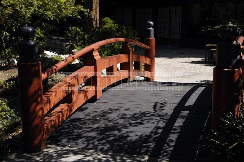 Picture of Red Japanese Bridge