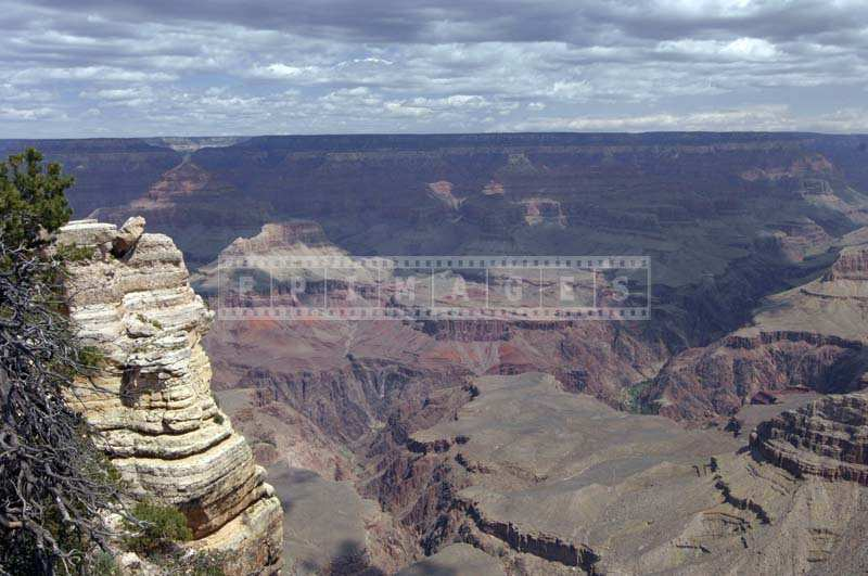 Natural Scenery of Canyon