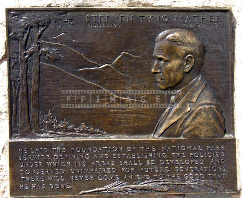 Stephen Mather Plaque