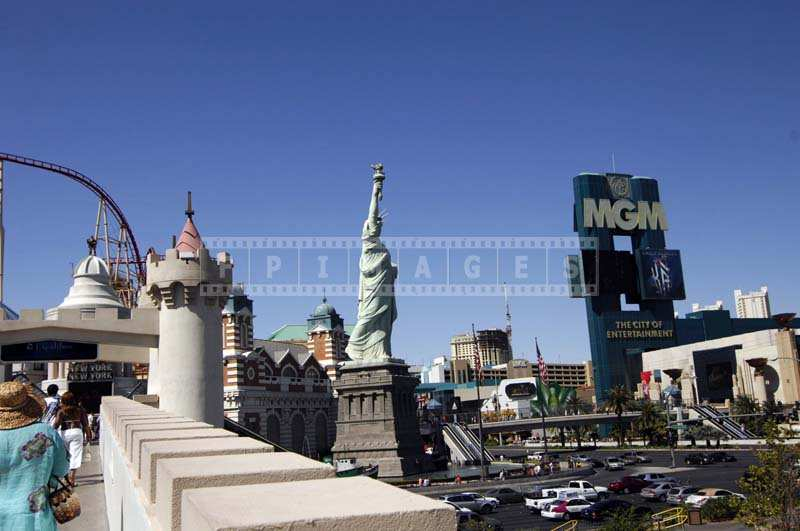 Statue of Liberty, Las Vegas strip