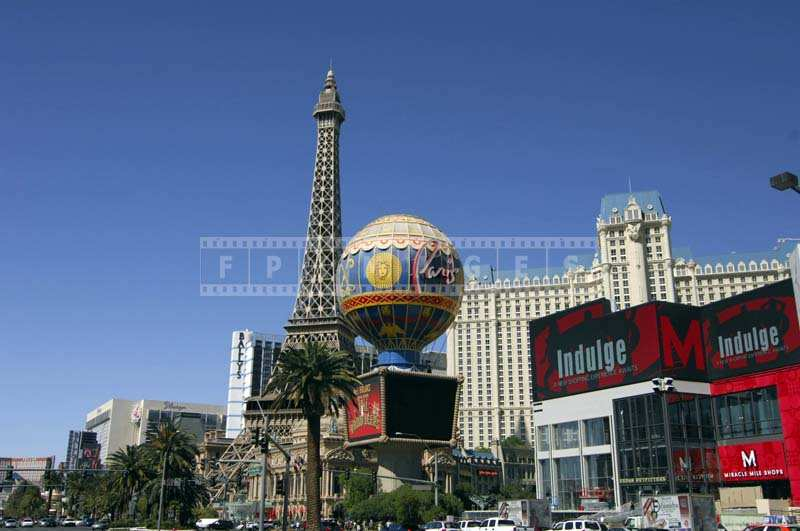 Wonderful Eiffel Tower and Paris Hotel