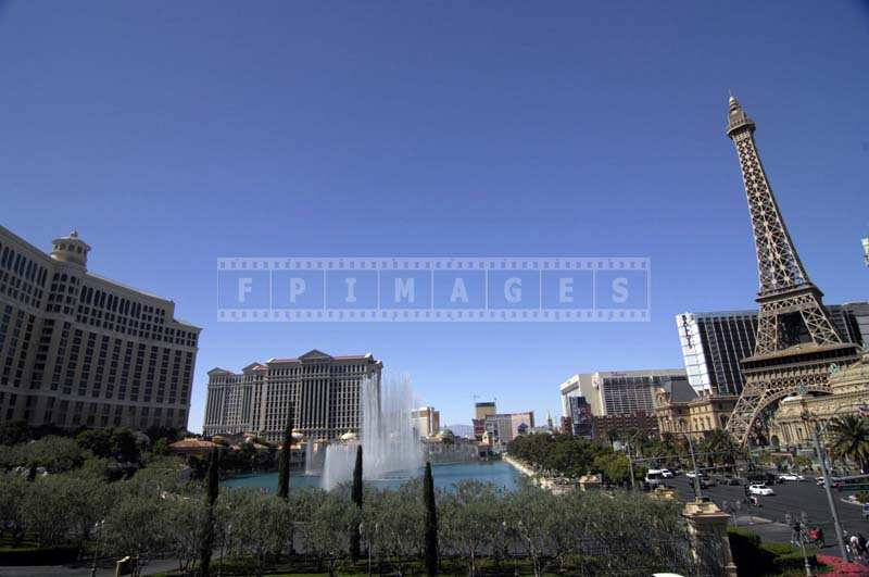 Bellagio Fountains at Las Vegas Strip