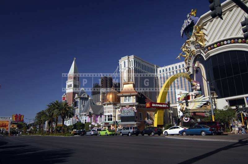 Casino Royale and other casinos street scene