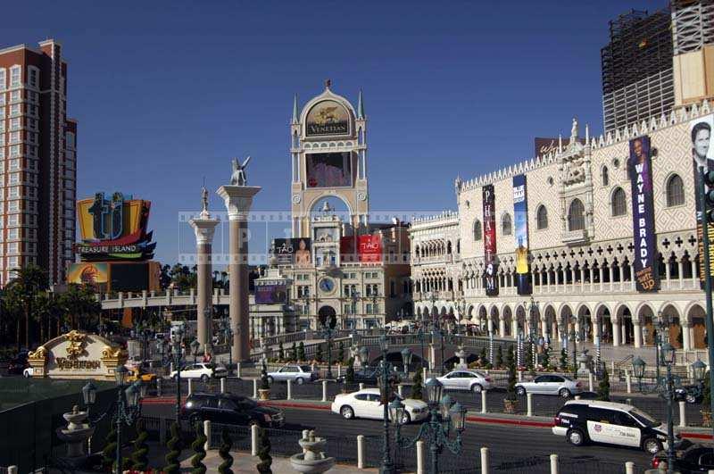 Vegas cityscape, Venetian hotel