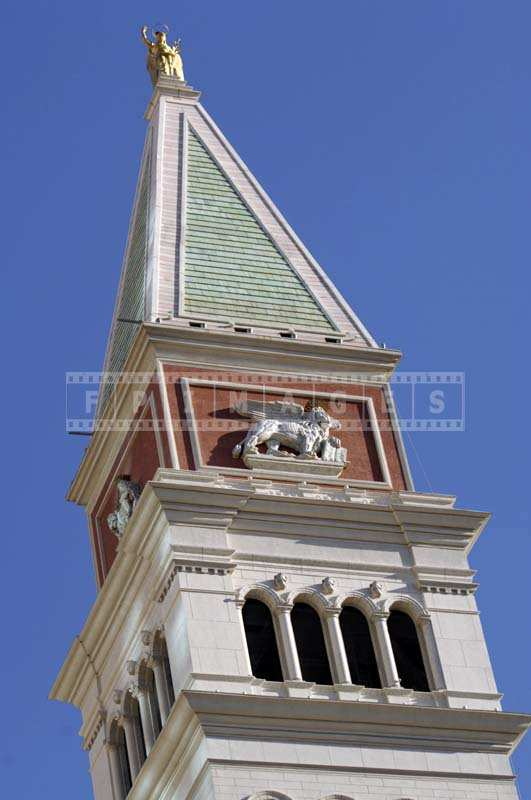 Detail of St. Mark's tower, zoom lens used