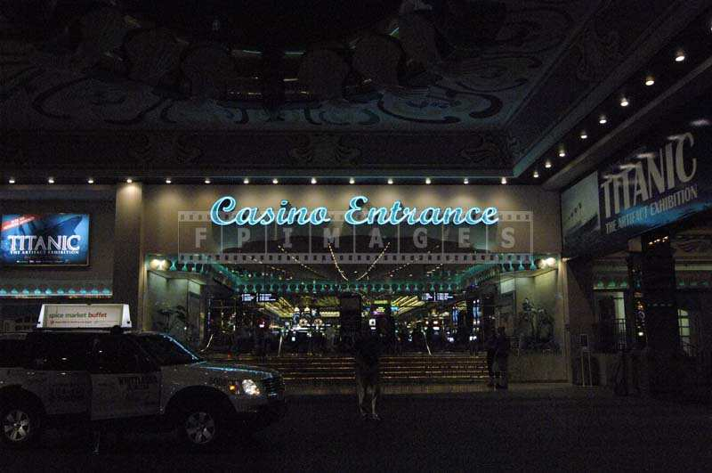 Tropicana Casino Entrance