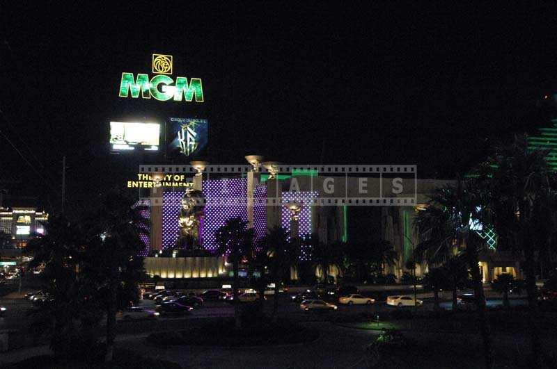 Illuminated MGM Grand