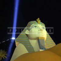 Sphinx Replica at Luxor Hotel, Las Vegas Pictures