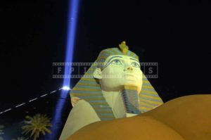 Sphinx Replica at Luxor Hotel, Las Vegas Pictures