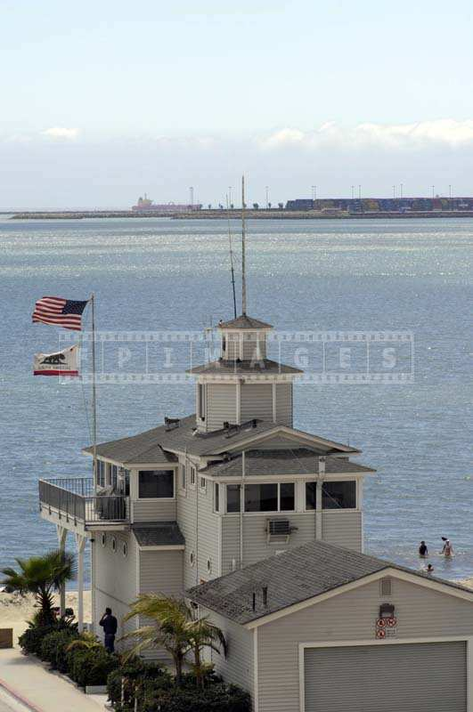 Long Beach Lifeguards headquarters