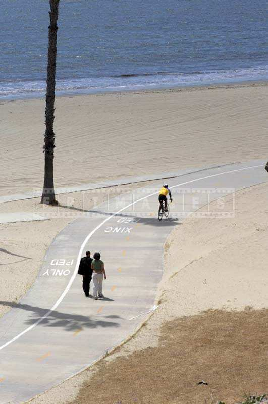 Enjoy a stroll or a bike ride along the shoreline pedestrian bikepath