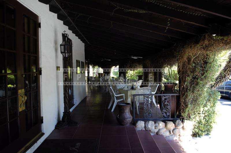 Idyllic porch at Ingleside Inn