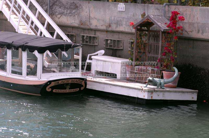 Nice residential boat landing
