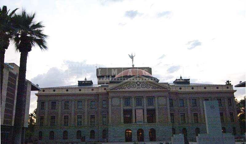 Beautiful architecture of Arizona State Capitol