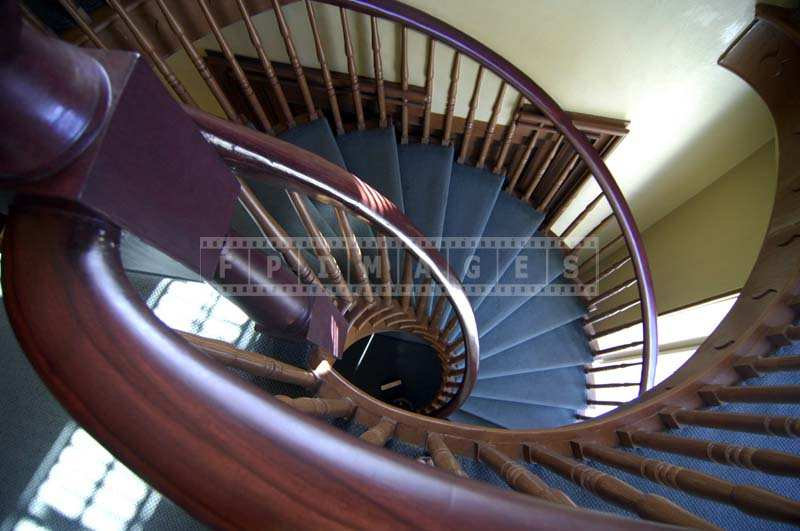 Beautiful Spiral Staircase, architectural detail