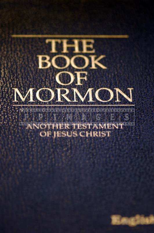 Book of Mormon picture, LDS scripture