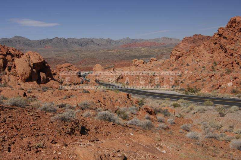 Valley of Fire Various Rocks Colors