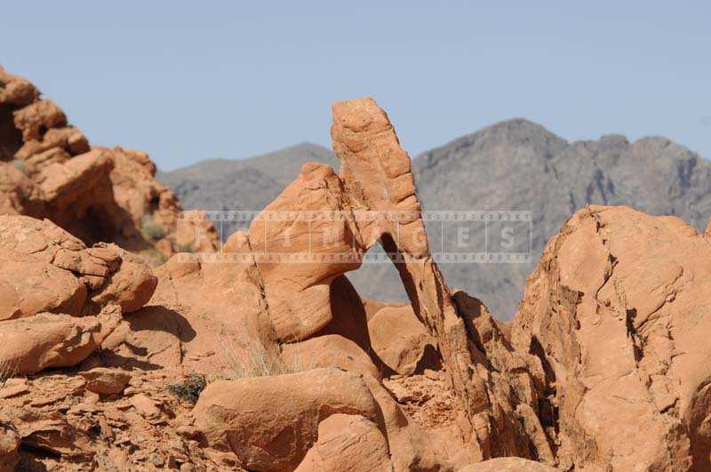 Distinct Rocks Shaped by the Erosion