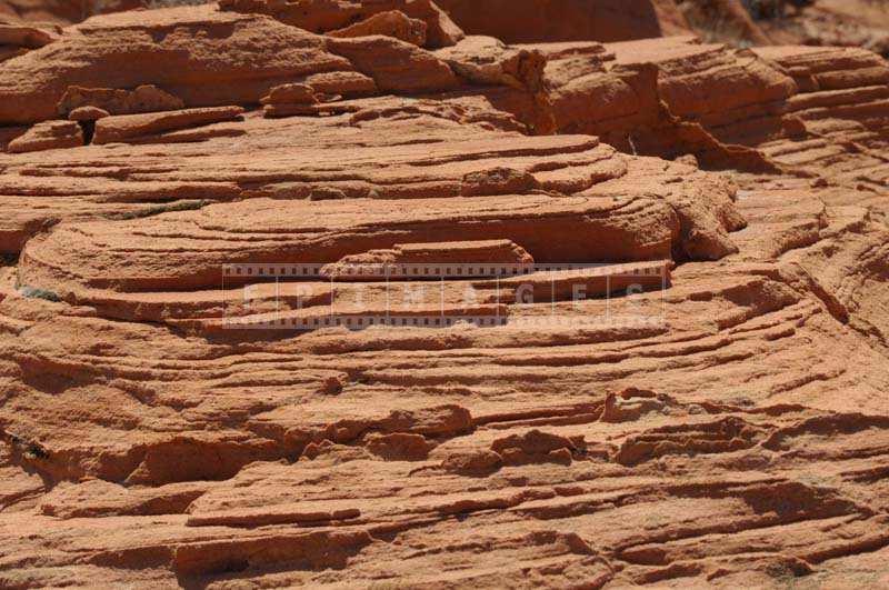 Layers of Sandstone Erosion