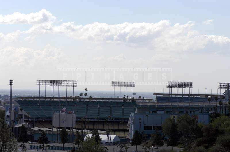 Dodgers Stadium from Elysian Park
