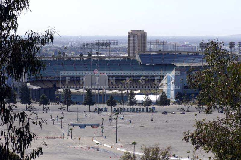 The Los Angeles Dodgers Stadium