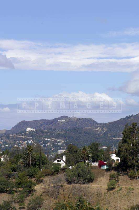 Hollywood Sign from   Elysian Park