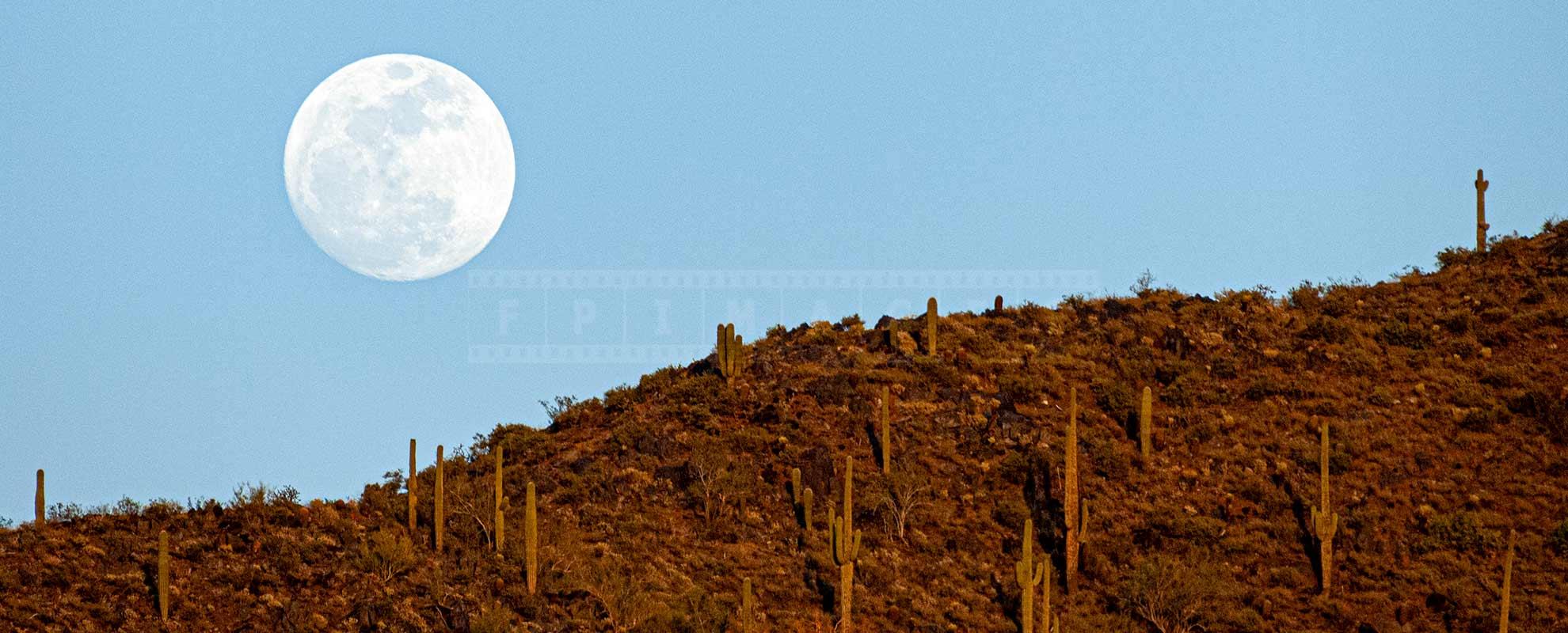moon above Black Mountain Summit Park